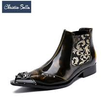 dress leather boots promotion shop for promotional dress leather