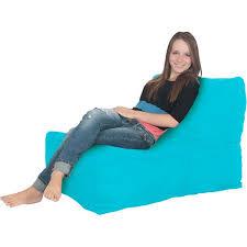 lounger foam bean bag chair multiple colors walmart com