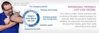 working at petsmart