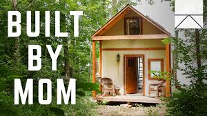 the tiny home built by a bad single mom youtube