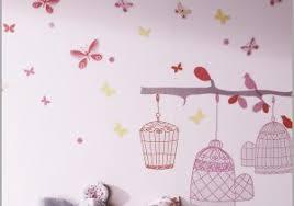 stickers geant chambre fille sticker chambre 553987 étourdissant stickers papillon 3d avec