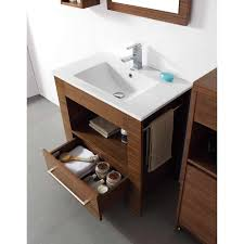 Walnut Bathroom Vanity by 27 5