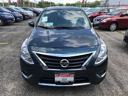 silver nissan versa new versa for sale in elgin il mcgrath nissan