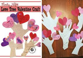 Valentine S Day Tree Decor by 75 Easy Valentine U0027s Day Crafts For Kids Personal Creations Blog