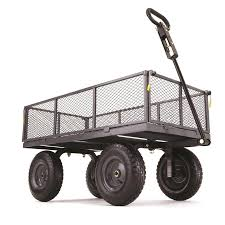 Hand Carts At Home Depot by Shop Wheelbarrows U0026 Yard Carts At Lowes Com