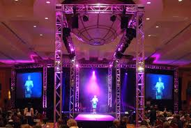 Truss Lighting Audio Visual Rentals Projector Led Screens Truss Lighting Sound