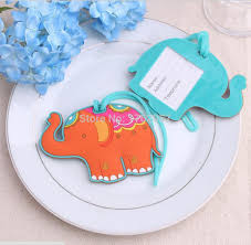 wedding luggage tags wedding favor travel rubber elephant travel luggage suitcase tag