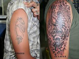 dragon skull cover up tattoo images gallery tattoomagz