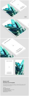 visitenkarten design kostenlos banana leaf business card template visitenkarten logos und