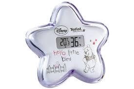 thermometre de chambre bébé thermomètre chambre bébé