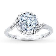 Jareds Wedding Rings by 0 70 Carat I Si2 Good Cut Round Diamond Plus Diamond Ring Setting