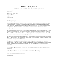 cover letter psychology cover letter examples psychology practicum