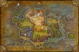on a map world of warcraft pandaria raids on a map quiz by moai