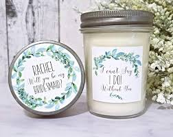 bridesmaid asking gifts bridesmaids gifts suzee s candle co