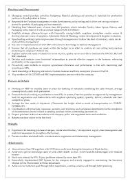 Purchasing Manager Resume Sample by Purchasing Manager Cv Word