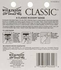 amazon com wilkinson sword double edge razor blade refills for