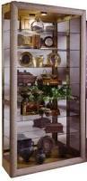 Pulaski Furniture Curio Cabinet by Curios Platinum Side Entry Curio Cabinet By Pulaski Furniture