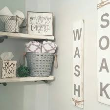 Wall Decor Bathroom Best 25 Bathroom Shelf Decor Ideas On Pinterest Half Bath Decor