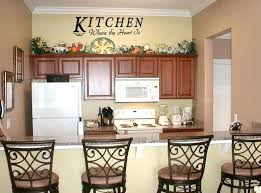 inexpensive kitchen wall decorating ideas cheap kitchen wall decor rustic wrought iron medium size of ideas