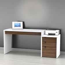Contemporary Desks For Home Modern Desks Allmodern With Regard To Stylish Residence White