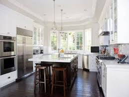 Backsplash Ideas For White Kitchens Kitchen Cabinet White Cabinets With Dark Island Drawer Knobs