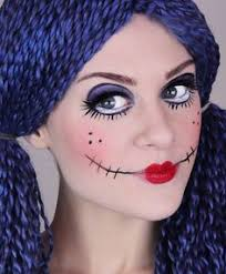 Killer Doll Halloween Costume Minute Halloween Makeup Ideas Halloween Makeup Makeup