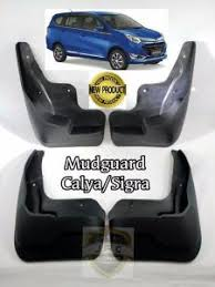 Toyota Calya Karpet Lumpur Mud Guard Aksesoris Jsl jual mud guard karpet lumpur kepet roda calya sigra harga set 4 pc