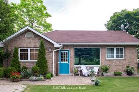 Simple Curb Appeal - how to paint a front door for added curb appeal sustain my