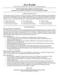Example Resume Retail by Sample Resume Retail Banking Operations Augustais
