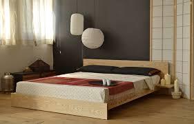Flat Platform Bed Bedroom Kulu Platform Wooden Bed Company Asian Frame