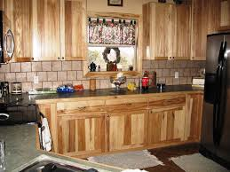 rustic hickory kitchen cabinets u2014 home design ideas