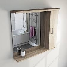 Bathroom Mirrors With Shelf Bathroom Mirror With Shelf Creative Bathroom Decoration