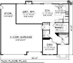 1100 Square Foot House Plans by European Style House Plan 4 Beds 2 50 Baths 2223 Sq Ft Plan 70 1100
