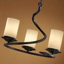 Iron Ceiling Light Wrought Iron Ceiling Flushmount Light With Scavo Glass