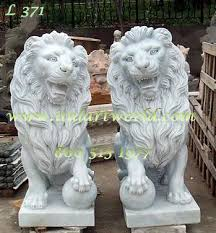 lion garden statue marble lion statues marble statuary carved animal