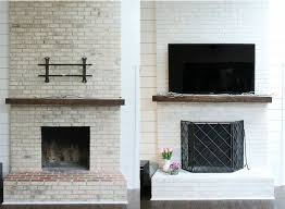 How To Cover Brick Fireplace by Best 20 Brick Fireplace Remodel Ideas On Pinterest U2014no Signup