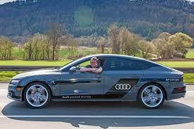 audi a7 self driving audi a7 drives itself and us on roads auto express