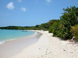 paradise beach on carriacou is picture perfect and virtually deserted