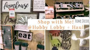 shop with me hobby lobby haul youtube