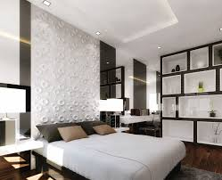 simple bedroom wall panels with additional home interior design