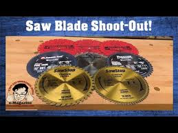 Best Table Saw Blades 8 Premium Table Saw Blades Which Ones Provide The Best Bang For