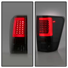 nissan titan interior lights 15 nissan titan led light tube style tail lights smoked