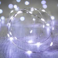 Battery Operated Mini Led String Lights by 20 White Led Micro Battery Fairy Lights Lights4fun Co Uk