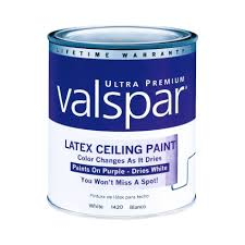 valspar color changing ceiling paint interior flat quart