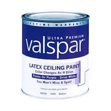 valspar color changing ceiling paint interior flat quart