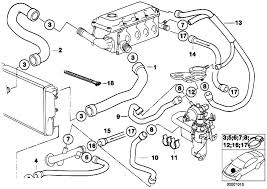 original parts for e34 518g m43 touring engine cooling system