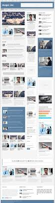 design magazine site 5 best responsive drupal themes with flat design in 2014