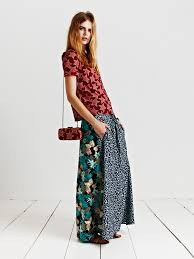 Mixed Patterns by Maison Scotch La Femme Selon Marie Spring Summer 2013 Fashion