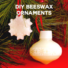 diy beeswax ornaments for gift giving and sewing maker