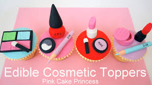 makeup cake toppers edible makeup cake toppers how to make cosmetics cake toppers by